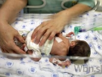 Na Slovensku sa ročne narodí približne 5000 detí predčasne