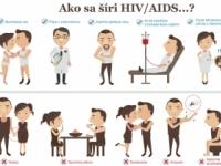 HIV sa neprenáša dotykom